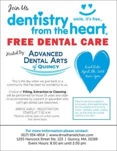 Advanced Dental Arts Free Dental Care