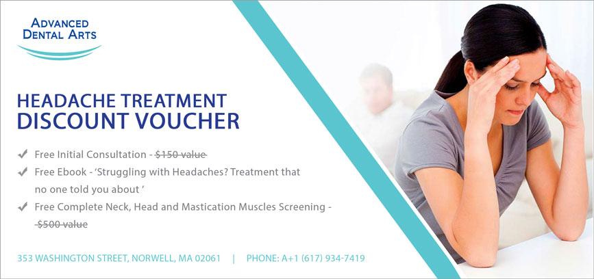 Headache Treatment Discount Voucher