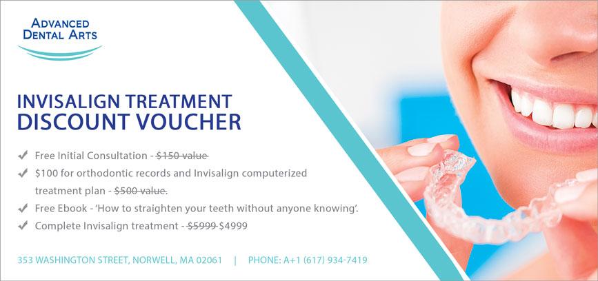 Invisalign Treatment Discount Voucher