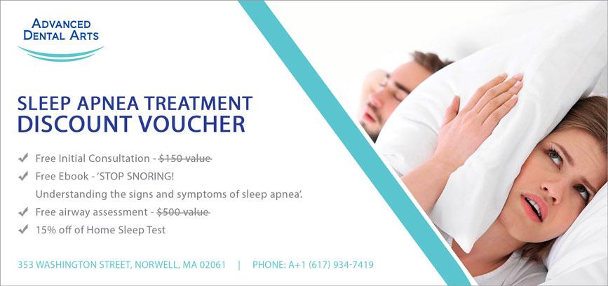 Sleep Apena Treatment Discount Voucher